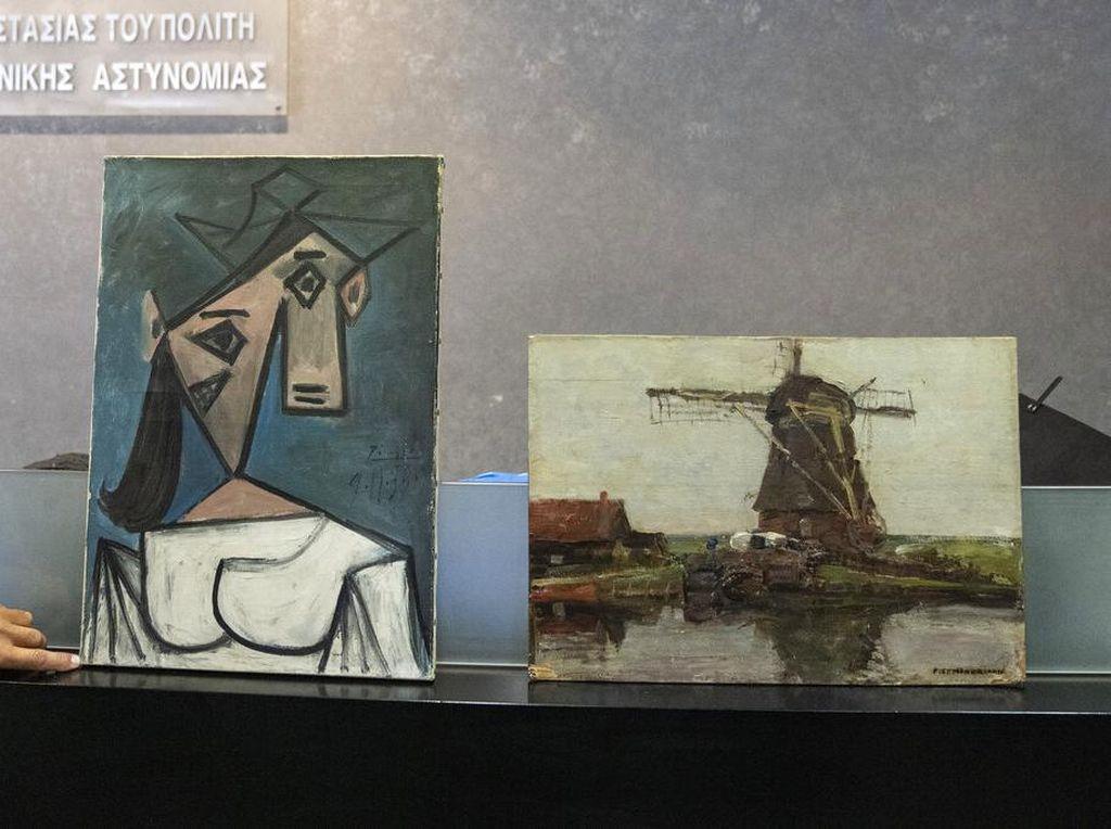 Lukisan Mahal Picasso yang Dicuri 10 tahun Lalu Akhirnya Ditemukan