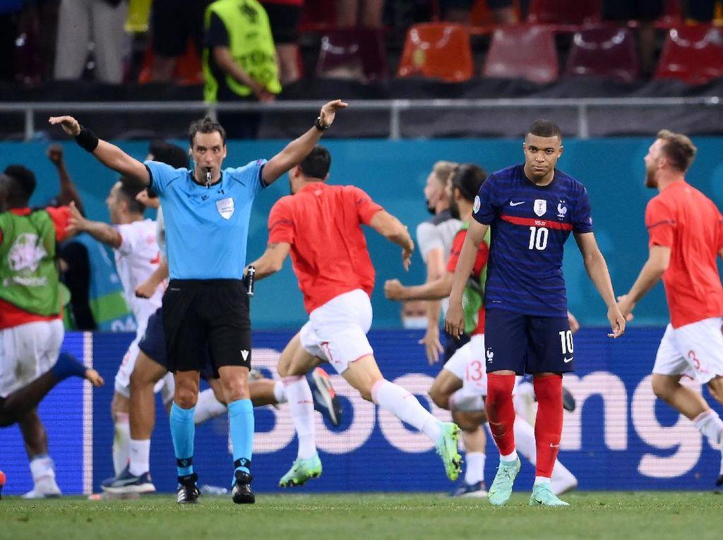 Euro 2020: 7 Statistik Usai Prancis Disingkirkan Swiss