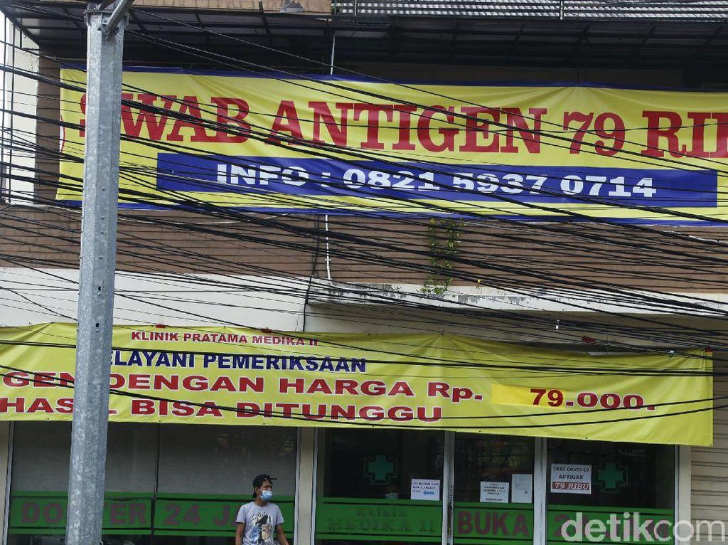 Perang Harga Swab Antigen di Tengah Lonjakan COVID, Kemenkes Buka Suara