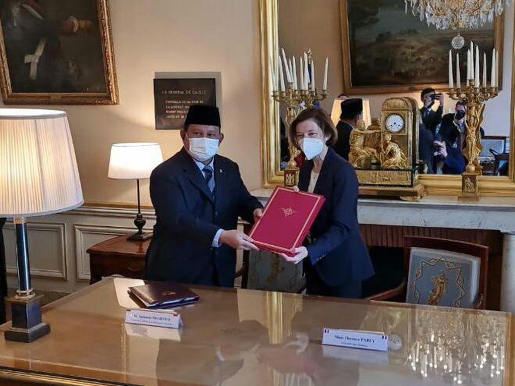 Prabowo Kunker ke Prancis, Teken Kerja Sama Intelijen-Industri Pertahanan