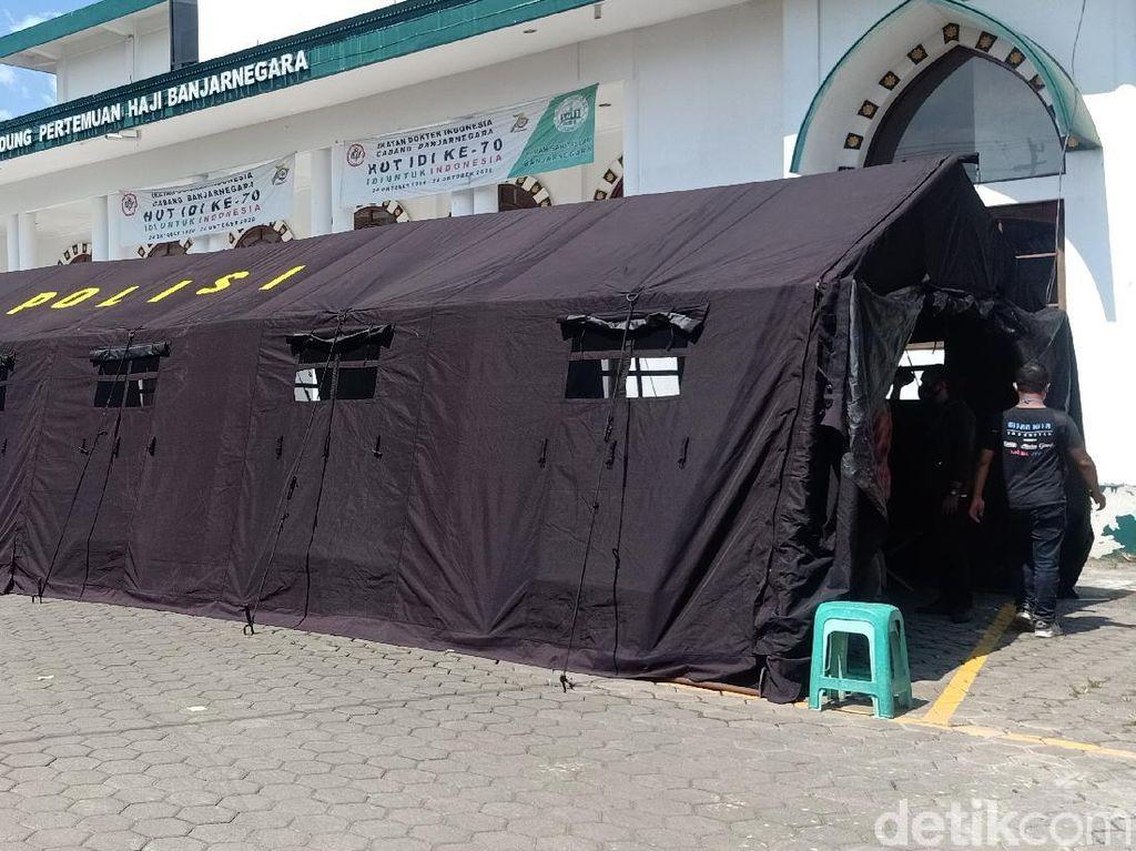 Bed Pasien Corona Penuh, RSI Banjarnegara Dirikan Tenda Darurat