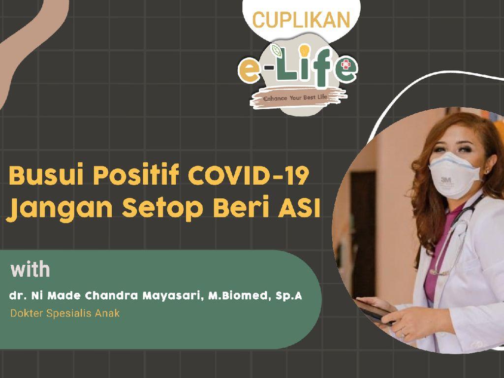 ASI Bisa Bantu Transfer Antibodi COVID-19 ke Anak