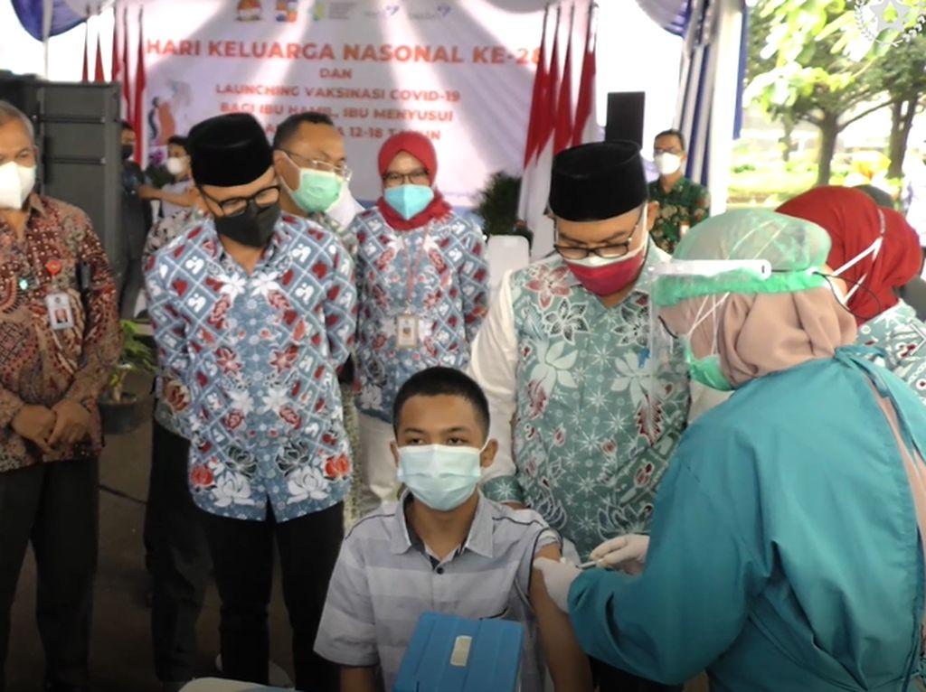 Pelaksanaan Vaksinasi COVID-19 untuk Ibu Hamil dan Anak di Bogor