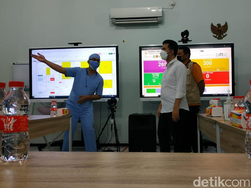 Kunjungi RS Lapangan Malang, Wagub Emil Pastikan Kesiapan Layanan