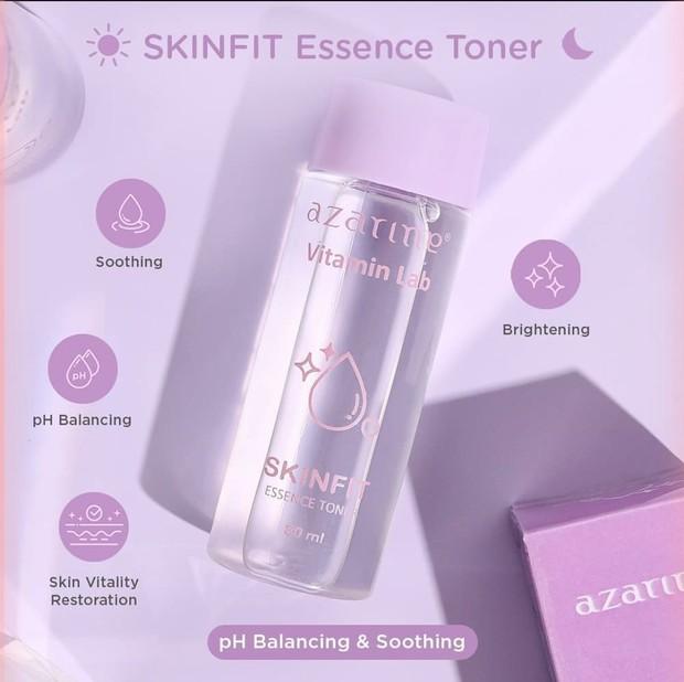 Azarine Vitamin Lab Skinfit Essence Toner (sumber :instagram.com/azarinecosmeticofficial)
