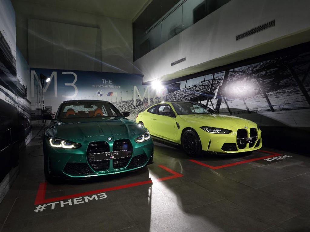 Spesifikasi BMW M3 Competition Sedan dan BMW M4 Competition Coupe