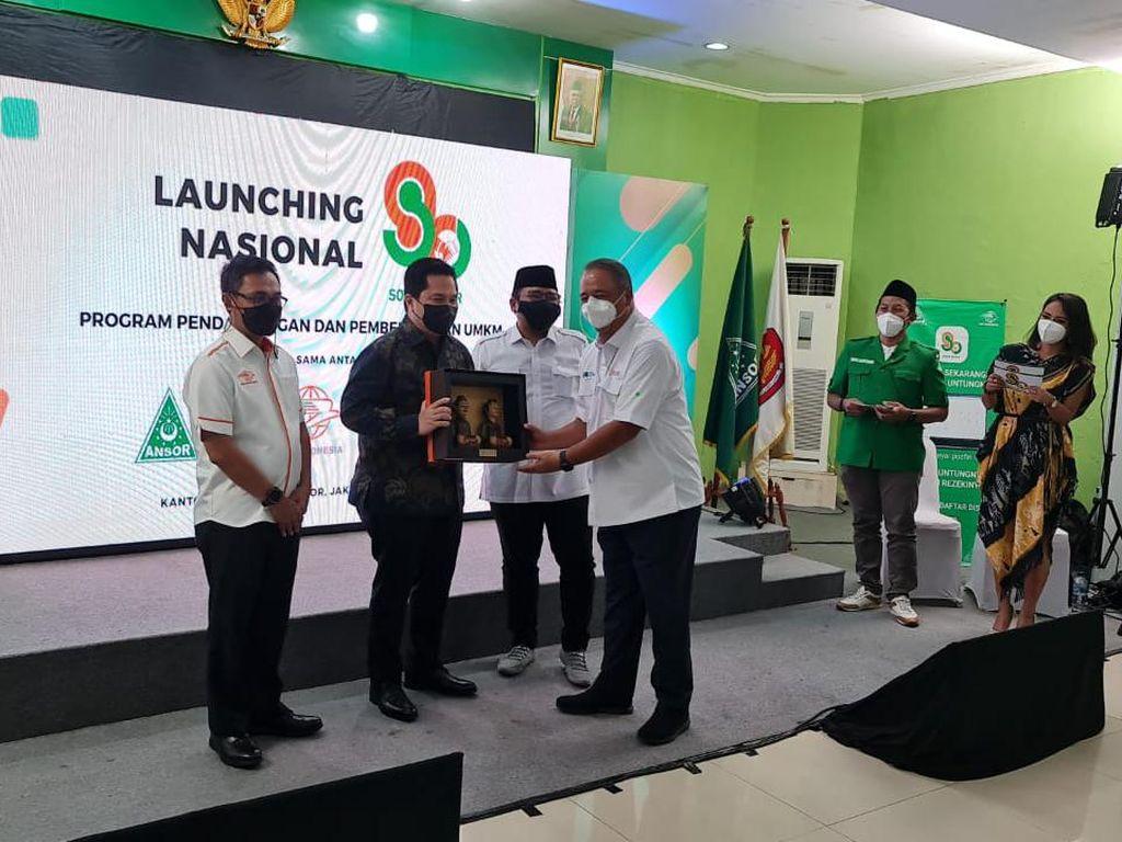 Perluas Jaringan BNI Agen46, BNI Gandeng GP Ansor & Pos Indonesia