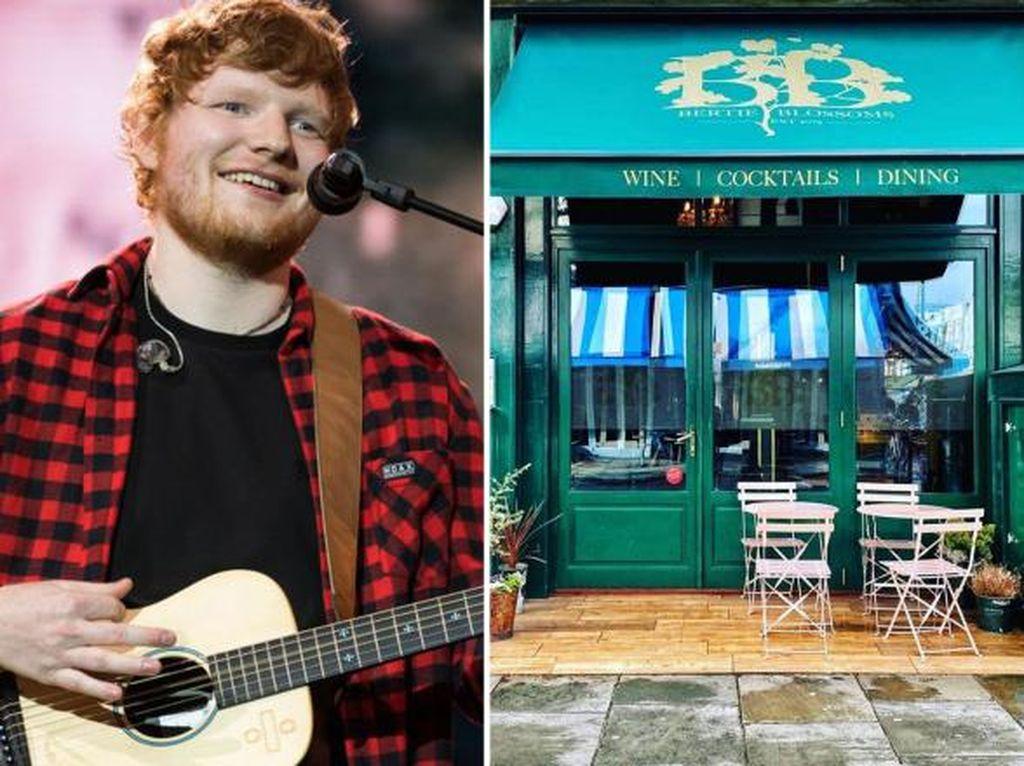 Ed Sheeran Punya Restoran, Ada Menu Pasta Enak dan Wine Club