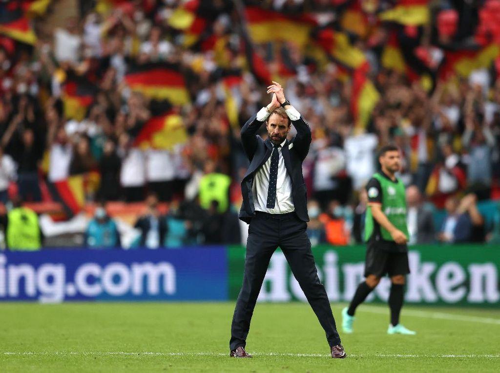 Inggris Menang Lawan Jerman, Southgate: Senang sih, tapi...