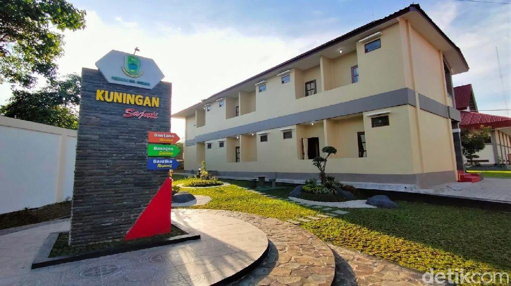 Gedung Pusdiklat BKPSDM Kuningan Jadi Tempat Isolasi Pasien Corona