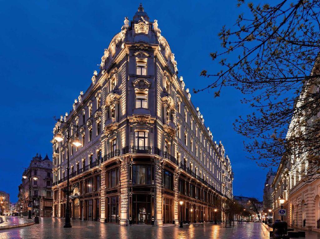 Istana Megah di Budapest Disulap Jadi Hotel Mewah