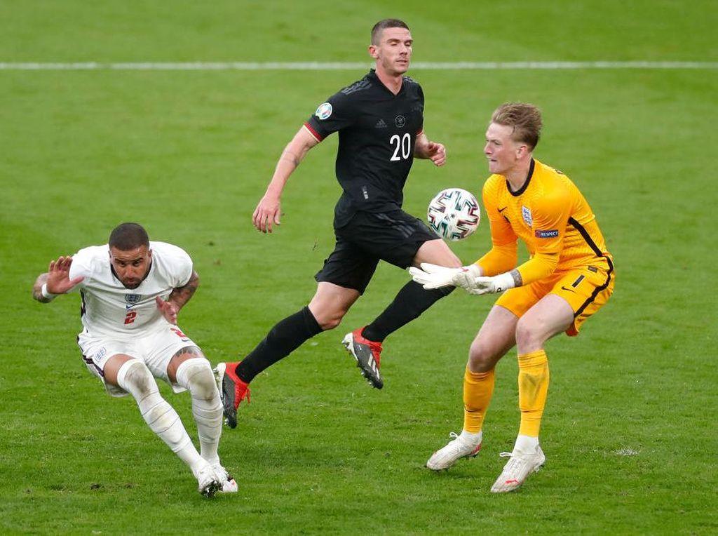 Gawang Inggris Belum Bobol di Euro 2020, Maguire Puji Sosok Ini