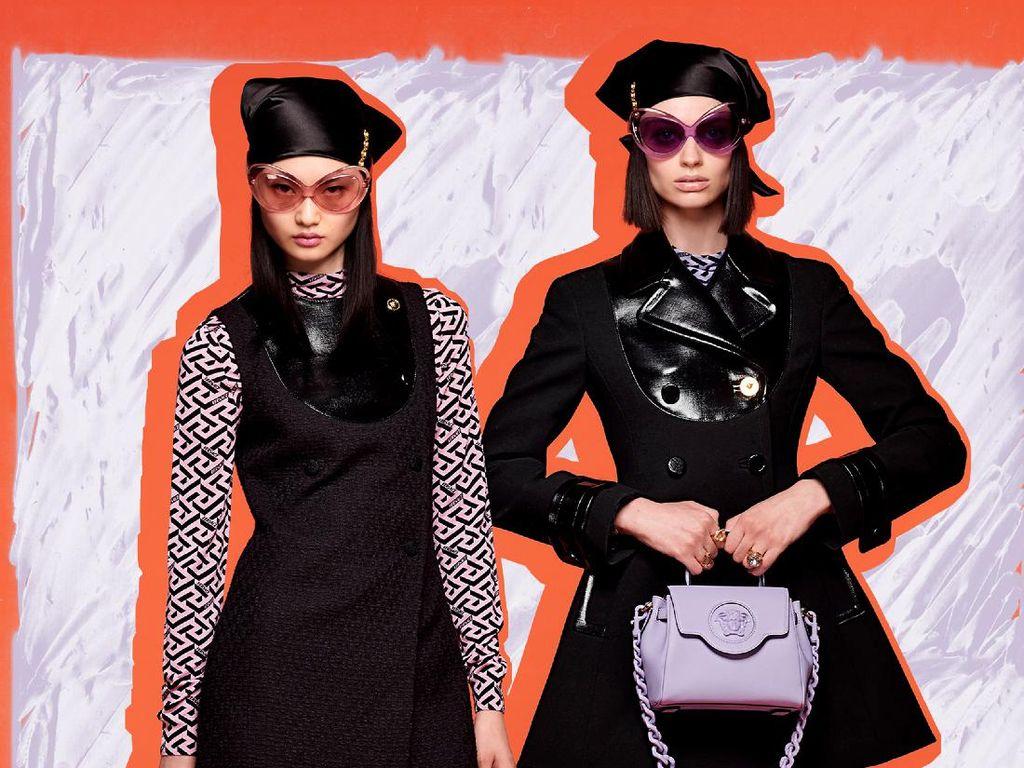 10 Koleksi Versace Resort 2022, Busana ala 90-an untuk Generasi TikTok