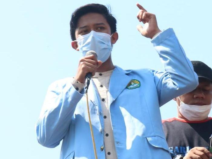 Koordinator Pusat BEM SI, Nofrian Fadil Akbar. (Dok BEM SI)