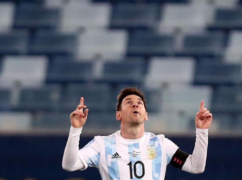 Lionel Messi Belum Habis di Copa America 2021