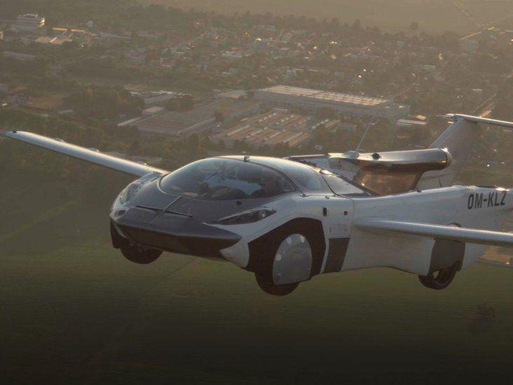 Mobil Terbang Makin Dekat Terwujud, Ini Penampakan Terbarunya