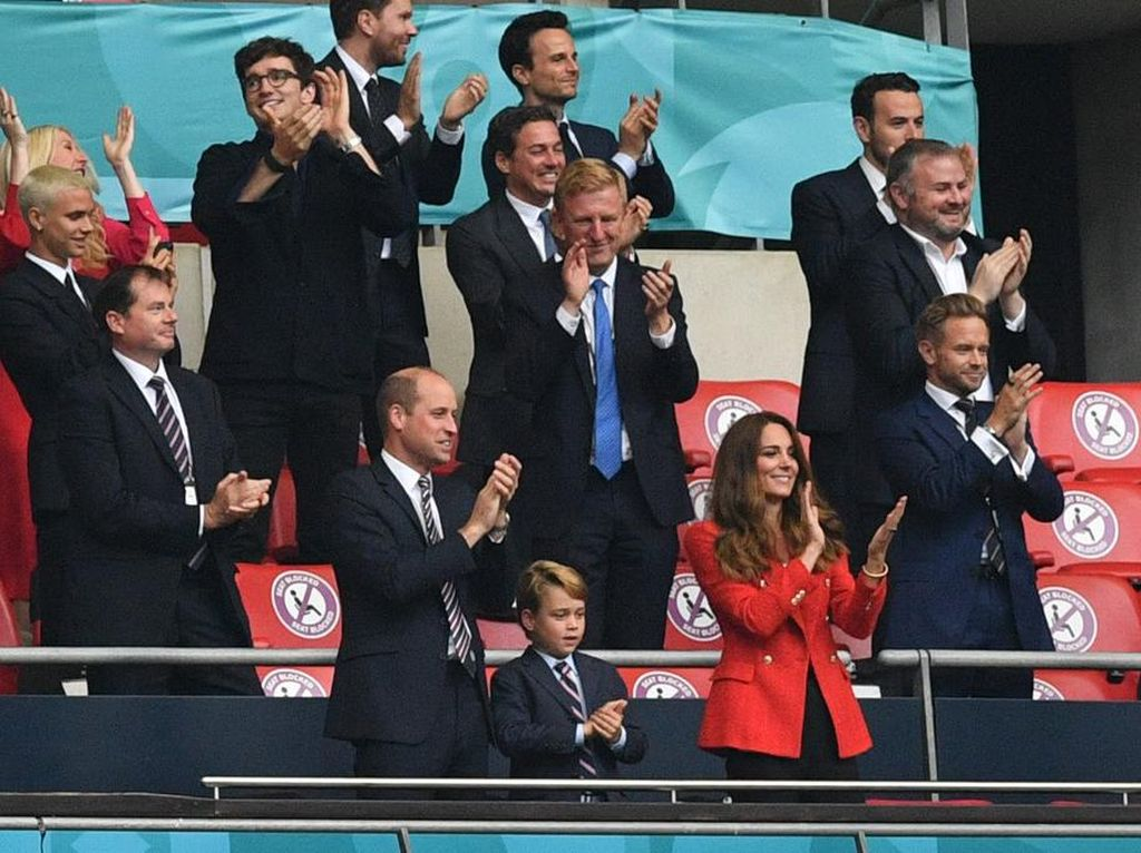 Pangeran George Jadi Sorotan di Pertandingan Inggris vs Jerman