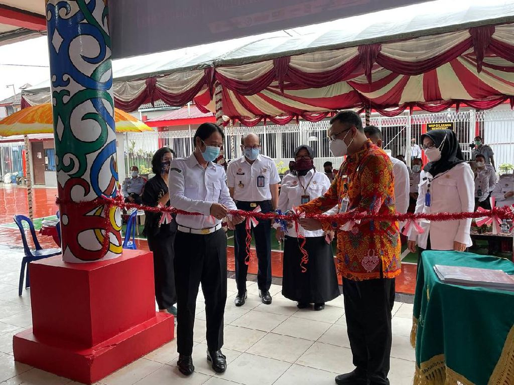 Pertama di Indonesia, Perpustakaan buat Warga Binaan Hadir di Lapas