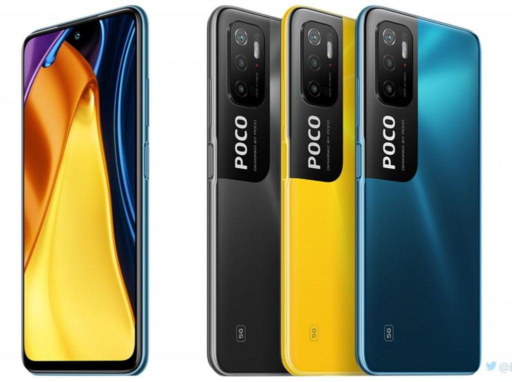 Poco M3 Pro 5G dan Pilihan HP 5G Murah Lainnya di Indonesia