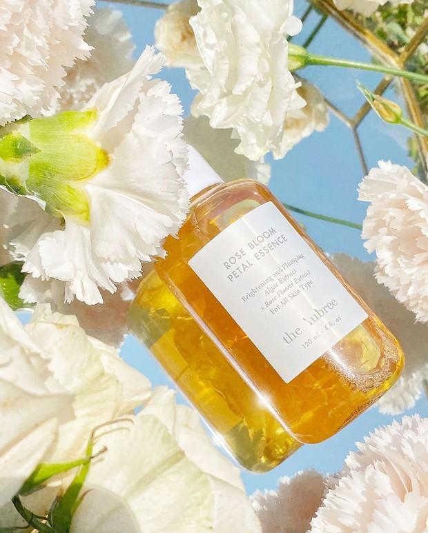 The Aubree Botanical Calendula Toner, skincare lokal dengan kandungan kelopak bunga asli.