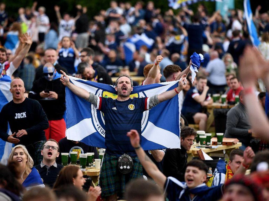 Klaster Inggris Vs Skotlandia, Hampir 2 Ribu Kasus Corona Terdeteksi!