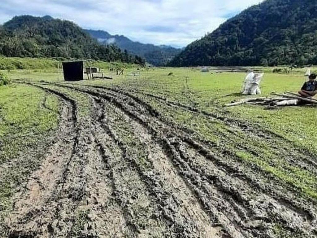 Geger Lembah Salimbongan Rusak Disebut Gegara Bupati Pinrang Kunker