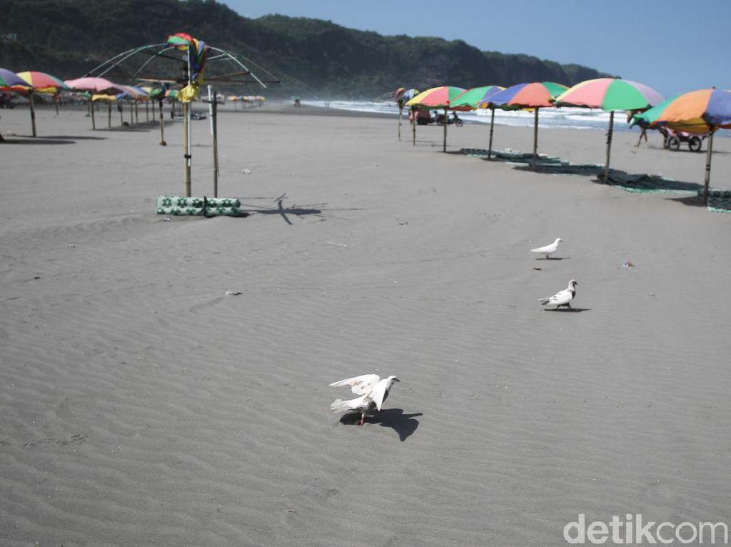 PPKM Darurat Diberlakukan, Seluruh Pantai di Bantul Tutup