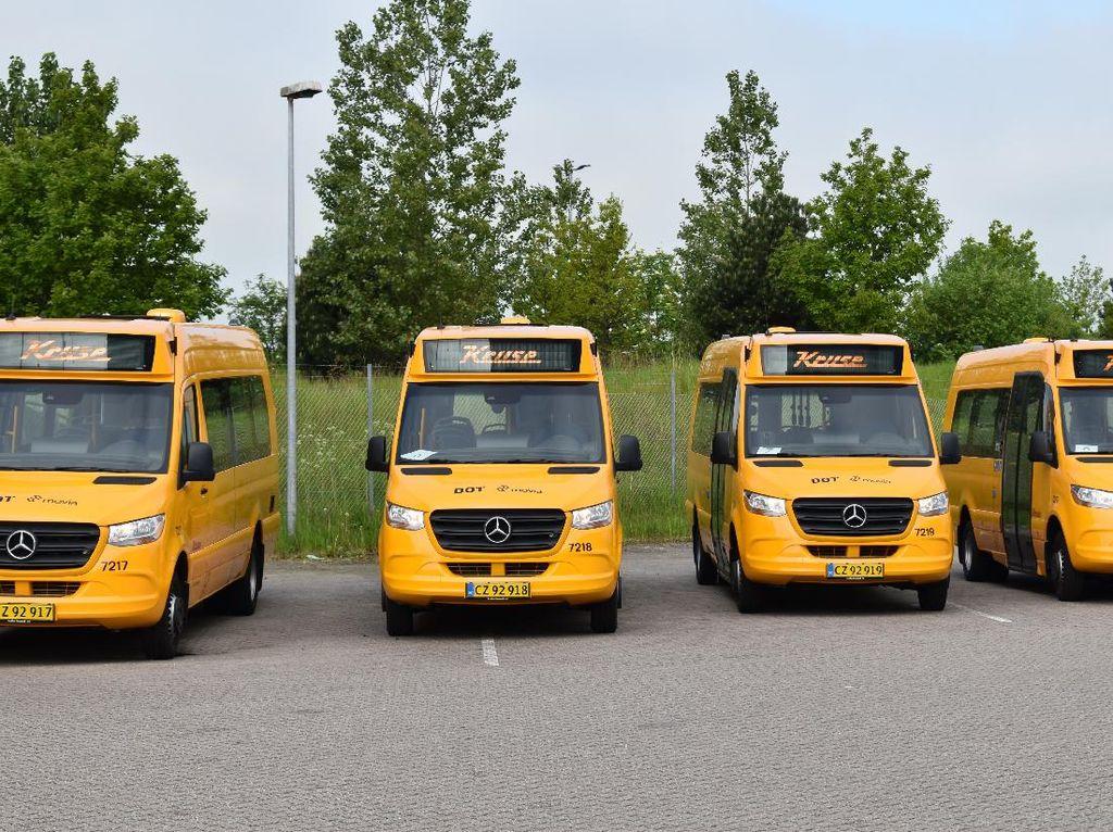 Keren! Bus Sekolah Ini Pakai Mercy Sprinter Terbaru