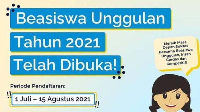 Beasiswa Unggulan Kemendikbud 2021