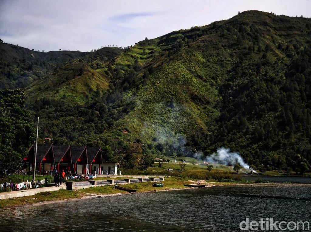 Bak di New Zealand, Begini Indahnya Desa Meat di Pinggiran Danau Toba