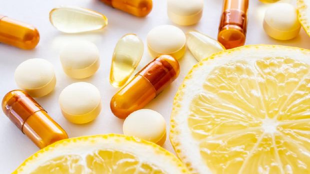 illustration of vitamin c