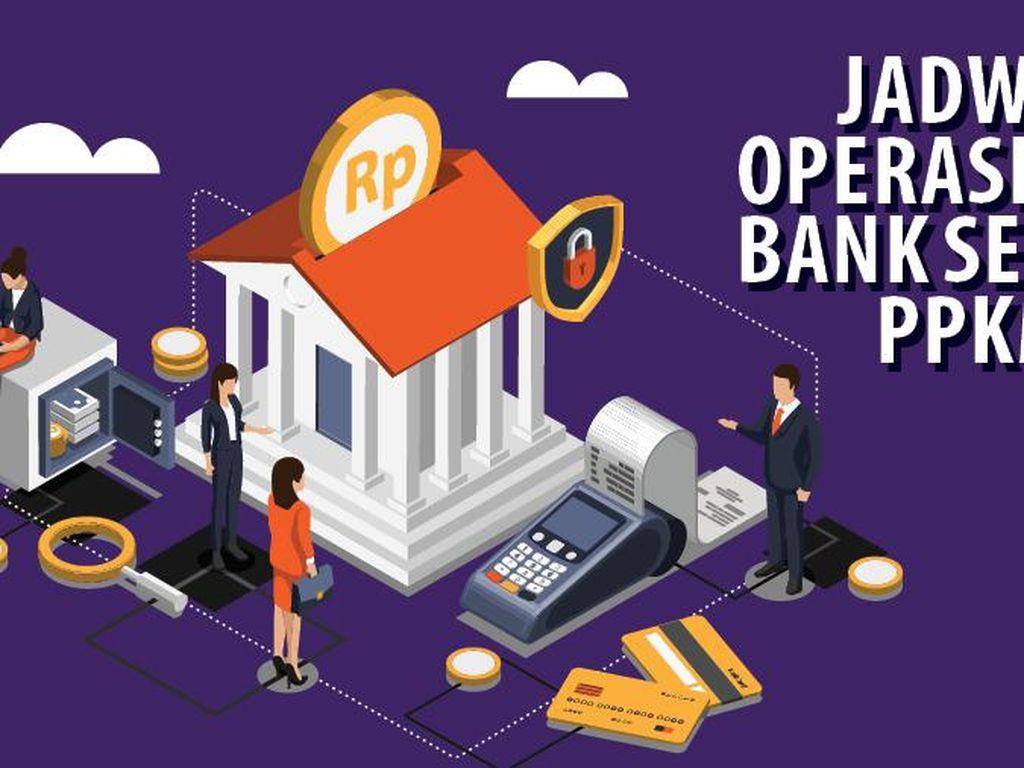 Jadwal Operasional Bank Selama PPKM Darurat