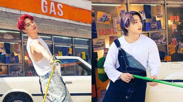 Tato Jimin dan Jungkook BTS yang menghilang di konsep foto Butter