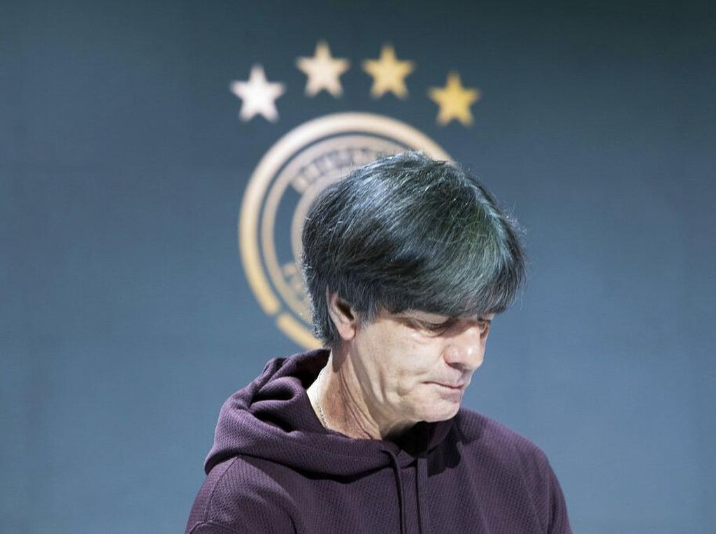 Jerman Gagal di Euro 2020, Joachim Loew Minta Maaf