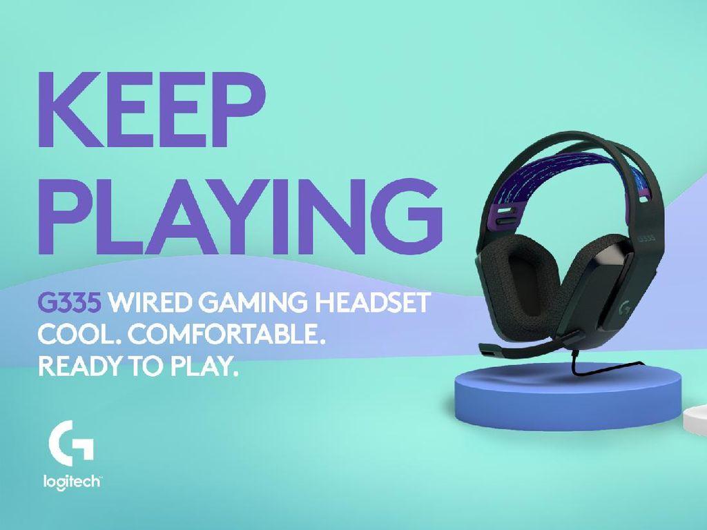 Logitech G335, Headset Gaming Murah Meriah