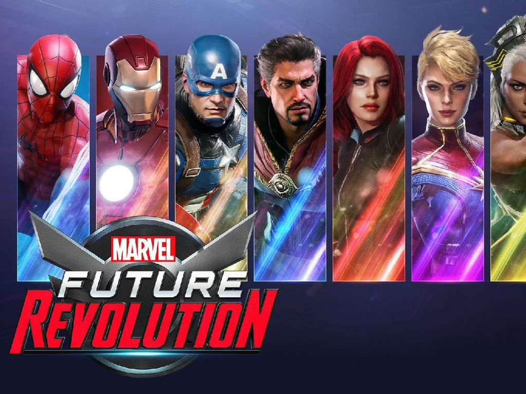 Pra Pendaftaran Game Marvel Future Revolution Dibuka di Dunia
