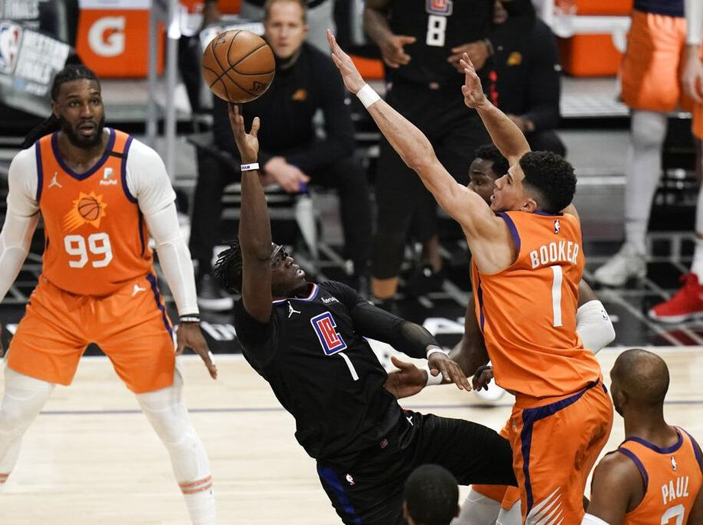 Hasil Clippers Vs Suns: Phoenix Suns Tembus Final NBA 2021