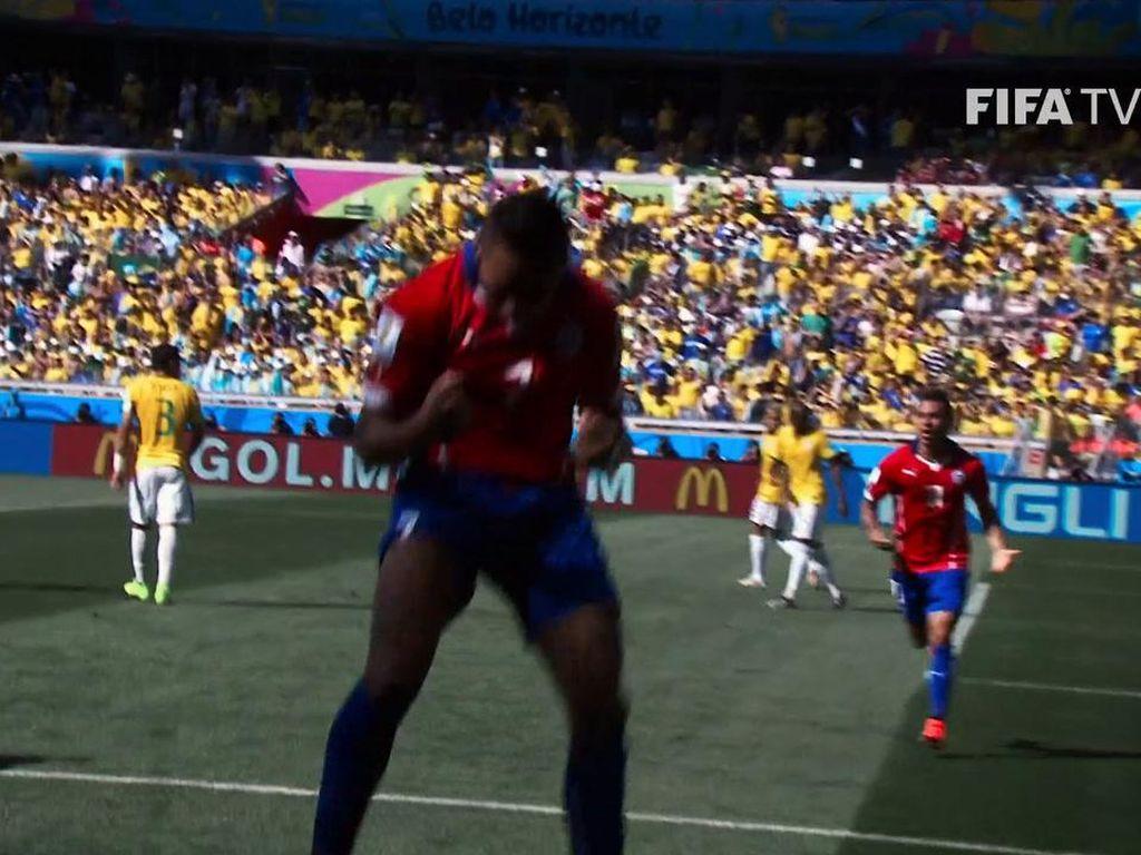 Brasil Vs Chile: Kilas Balik Gol Apik Alexis Sanchez