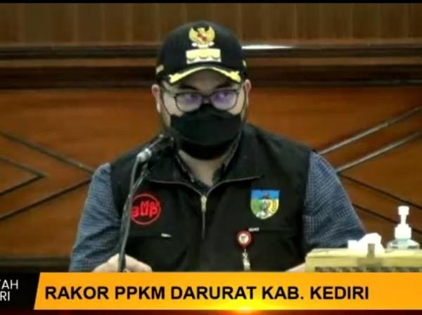 Kabupaten Kediri akan menerapkan PPKM Darurat. Satgas desa dan kecamatan diajak meningkatkan kinerja selama PPKM Darurat.