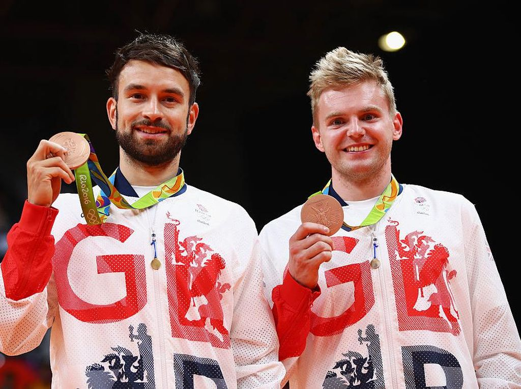 Ganda Putra Inggris Ini Lolos Olimpiade, tapi Tak Tampil di Tokyo