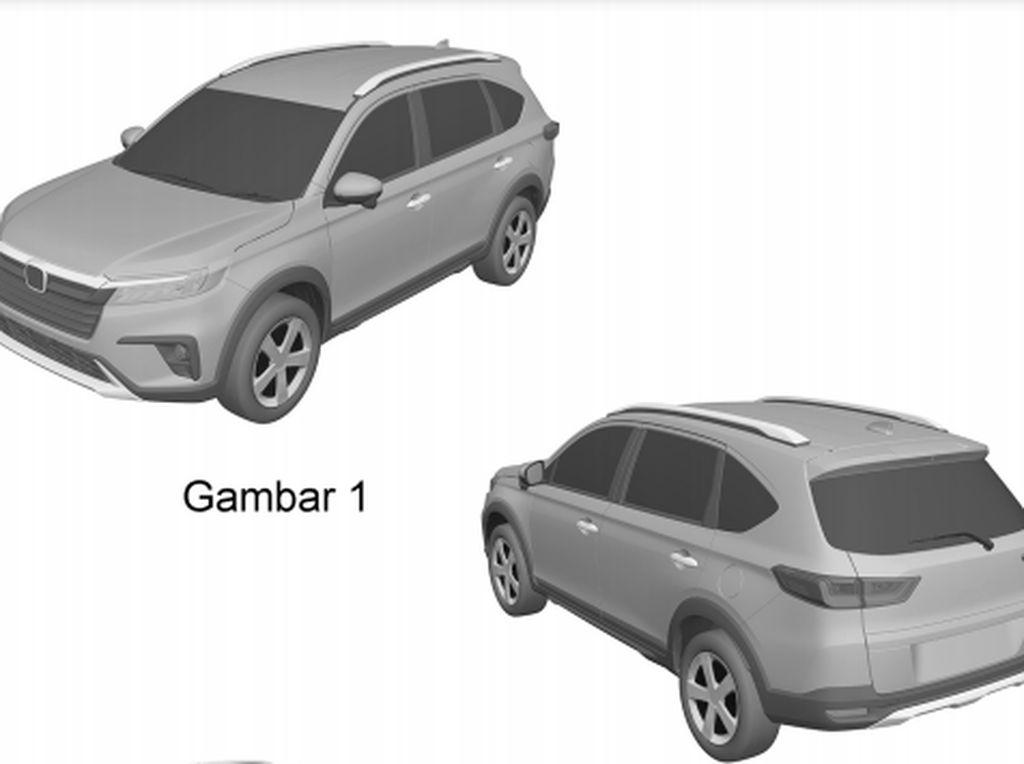 Muncul Desain Baru Honda BR-V yang Mirip N7X, Siap Dijual di Indonesia?