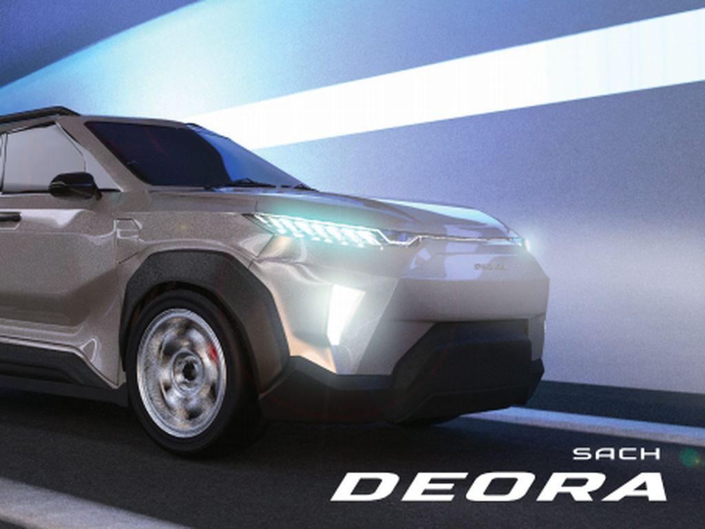 Desain Mobil Listrik i-Deora yang Futuristis Karya Mahasiswa ITS
