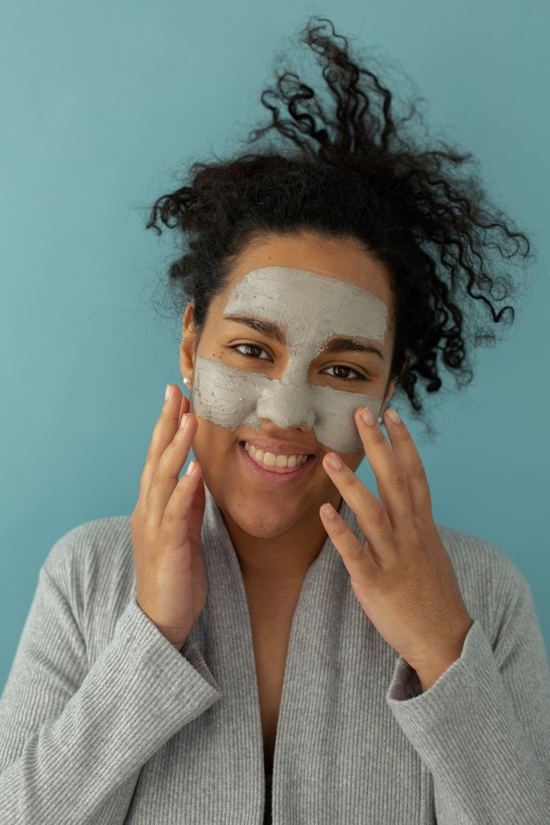 Clay mask.
