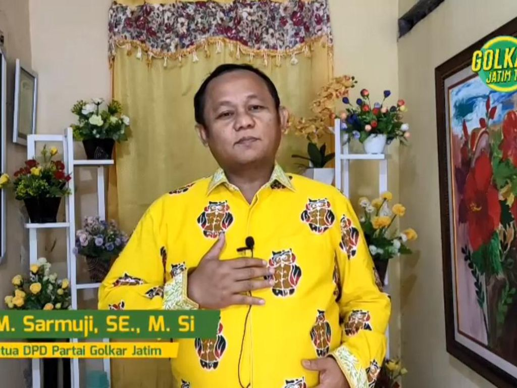 Ketua DPD Golkar Jatim Ajak Kader dan Warga Jalankan PPKM Darurat
