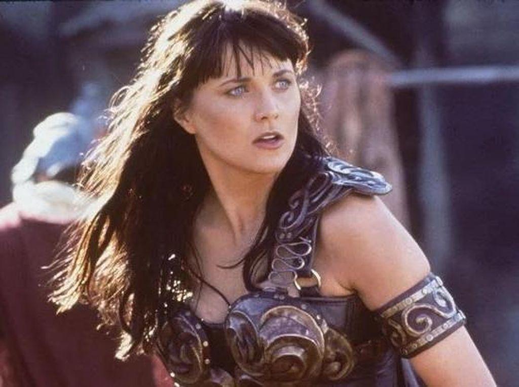 Penampilan Bintang Xena: Warrior Princess Kini Tak Lagi Perkasa