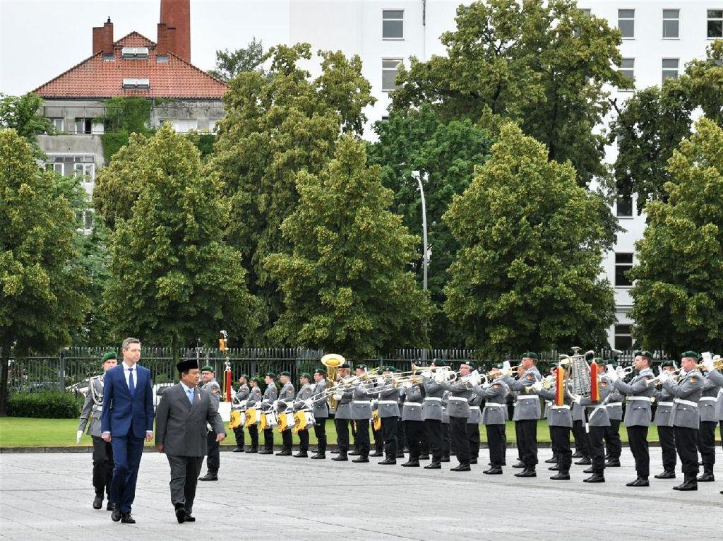 Prabowo Lanjut ke Berlin Bahas Kerja Sama Alutsista RI-Jerman