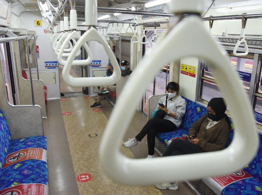 PPKM Level 4 Diperpanjang, STRP Tetap Jadi Syarat Perjalanan KRL