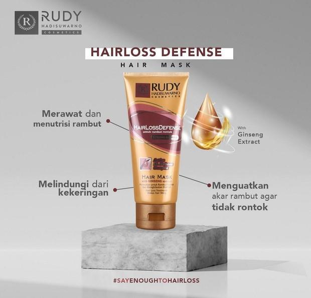Rudy Hadisuwarno Hair Loss Defense