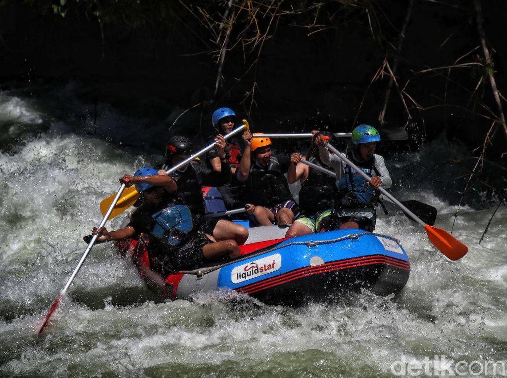 Menguji Adrenalin di Sungai Asahan, Arung Jeram ke-3 Terbaik Dunia