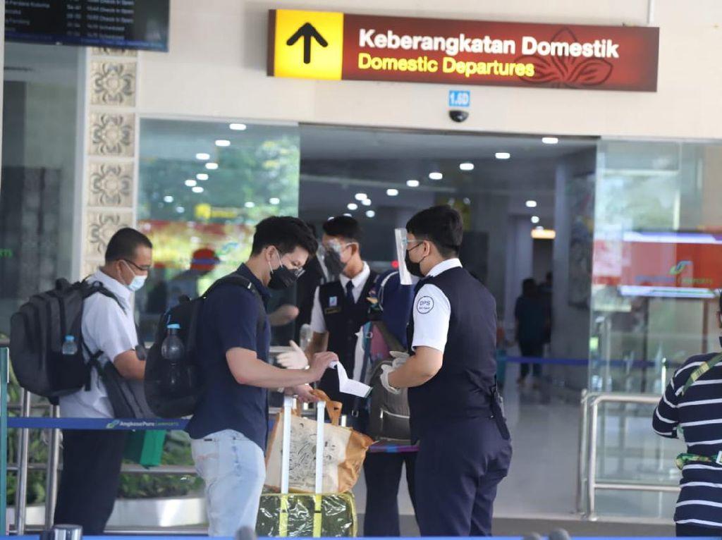 Ada PPKM Darurat, Jumlah Penumpang di Bandara Ngurah Rai Bali Jebol 63 Persen